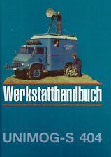 Werkstatt-Handbuch Unimog 404 S von B&B - Bestseller!