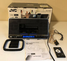 JVC NX-PN7 Portable Audio System with Dual iPod Dock AM/FM Radio Stereo