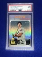 2020 Topps Heritage Chrome Refractor Pete Alonso #/571 PSA 9
