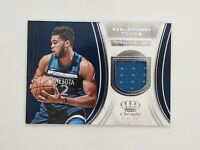 2018-19 Crown Royale Karl Anthony Towns Jersey Relic #J-KAT Timberwolves