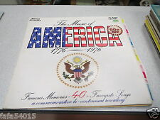 33 TOURS THE MUSIC OF AMERICA 1776 1976