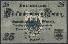 [11936] - Notgeld patschkau (aujourd'hui: Paczków), ville, 25 PF, 00.00.1917, Tieste 5