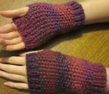Cg22 - Knitting Pattern For Aran Wrist Warmers / Fingerless Gloves - Any Colour