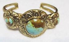 STUDIO BARSE~ Number 8 Turquoise Bronze Cuff Bracelet ~Average Wrist~NEW