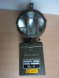 BW Handscheinwerfer von Eismann mit Zubehör und  Transportkiste (ohne Batterie)
