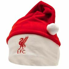 Official Liverpool FC Football Crest Christmas Fans Santa Hat