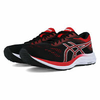 Asics Mens Gel-Excite 6 Running Shoes Trainers - Black Red Sports Breathable