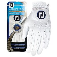 FootJoy Japan Golf All Weather Nanolock Tour Glove for Left hand Fgnt17 White