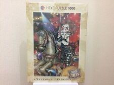 Heye Puzzle - Victoria Frances - Misty Circus - Carousel - 1000 Teile - NEU -TOP