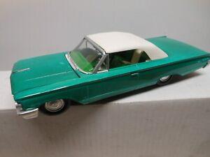 AMT Original 1963 Mercury Monterey Convertible W/ Top Model Screw Chassis Built