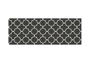 Kitchen Mat   PVC  Non Slip Anti Fatigue Laundry Mat   Renaissance Black & Brown