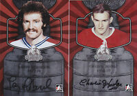13-14 ITG Larry Robinson Auto Lord Stanley's Mug 1977-78 Canadiens 2013