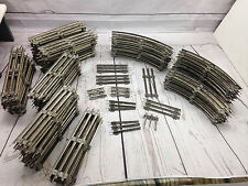 Vintage Lionel Train Track Metal 92 PCS Straight Curved O Scale?