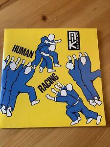 "Nik Kershaw. Human Racing. NIKD5. 7"" inch Double Gatefold Single"