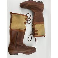 Ugg Belcloud Tall Boots Waterproof Winter Rain Boots Shearling Lined Size US 7.5