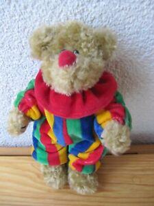 Ty 1993 Picadilly Clown Bear Bär 23 cm Stofftier Kuscheltier Plüschtier