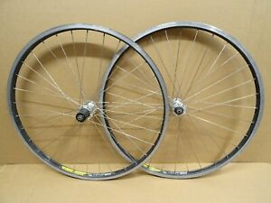 "Alex Rims MX18 26"" Wheels Rim Brake Quick Release Shimano Hubs"