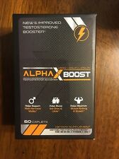 Alpha X Boost Optimum Performance Technology- Natural Testosterone Booster- Repl