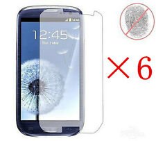 6Pcs Anti-Glare Matte Front Screen Protector For Samsung Galaxy S3 SIII i9300