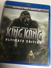 King Kong (Blu-ray/DVD/Digital HD,2017,3-Disc,Ultimate Edition,Unrated,Extended)