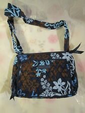 VERA BRADLEY Little Hipster Crossbody Java Floral TAGS FREE SHIPPING