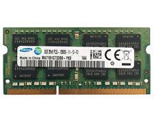 SAMSUNG DDR3 RAM LAPTOP 1600 MHZ 8GB 2RX8 PC3L 12800S-11-13-F3 M471B1G73DB0-YK0