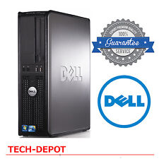 Dell Desktop Computer PC Core 2 Duo 3.0Ghz 4GB RAM 1TB DVDRW Windows 10