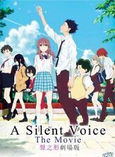 DVD Anime Movie A Silent Voice The Movie / Koe no Katachi *ENG SUB* + Free Gift