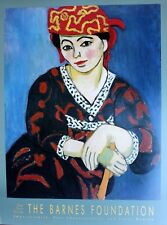Henri Matisse Lithograph Poster MME Matisse Madras Rouge 1993