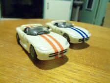 Dodge Viper Ho Scale Slot Cars Pair! !