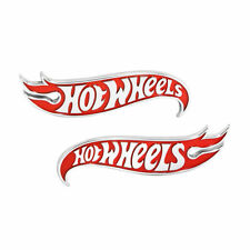 2x OEM Chevy Camaro Hot Wheels Edition Deck Lid Emblem Badge Lu Genuine Red