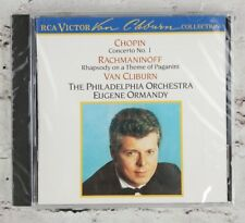 Van Cliburn: Chopin: Concerto No.1; Rachmaninov: Rhapsody; Theme of Paganini CD