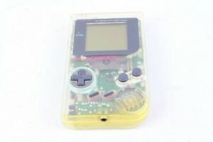 Nintendo Gameboy  console clear skeleton Japan tested working