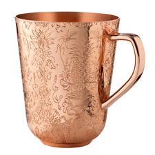 More details for new! one absolut elyx vodka copper moscow mule cup thick copper mug rare! 370ml
