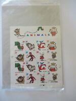 Favorite Children's Book Animals 3987-3994 39¢ Sheet of16 MNH