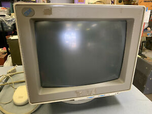 Vintage 1993 IBM Computer Monitor for PS/2 Type Model 9515-001 for repair