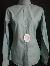 LADIES or YOUTH Hunt Show SHIRT sz 30  Pale green blue NWT