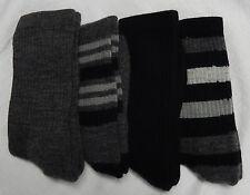 4 Pair Womens 76% Merino Wool Blend Hiking Hunting Trail Socks USA Made 4-10shoe