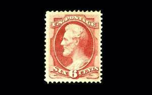 US Stamp Mint, VF/XF S#137 No gum, Great centering, a real GEM