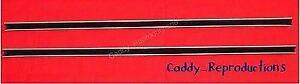 "1933 - 1964 Cadillac Window Channel Track Pair 33 - 64  32"" Each"
