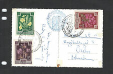 AUSTRIA-COVERS-OLDER-SIX PIECES-CREATIVE FRANKING-NICE CANCELS