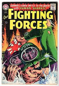 Our Fighting Forces #93 Featuring Gunner & Sarge,  Very Good - Fine Condition*