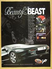 1996 Lotus Esprit V8 car photo vintage print Ad
