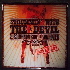 Strummin' With The Devil Van Halen Tribute Coaster