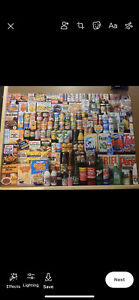 "Gibsons  1000 piece jigsaw puzzle - ""1980s Shopping Basket"". Used"