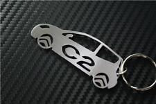 pour Citroen C2 voiture Porte-clés Porte-clef VTS + GT 1.4i 1.6 Furio S HDI