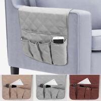 5Pocket fauteuil canapé livre rangement Candy organisateur TV télécommande porte