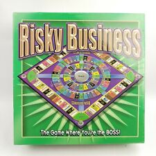 New Sealed! 2001 RISKY BUSINESS Board Game By Adventure Games OOP
