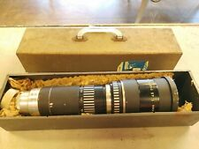 Antique Tele-Picon 1:4.5 f=400mm Nr. 91425 Piesker Berlin West Germany Lens