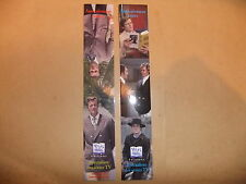 ROGER MOORE TONY CURTIS THE PERSUADERS! 2 BOOKMARKS ITC James Bond Saint